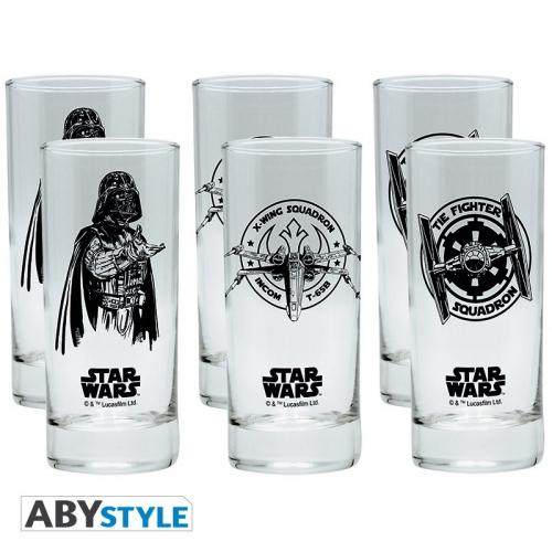 Star Wars - Assortiment de 6 verres Star Wars
