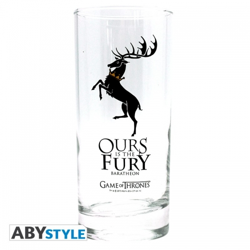 GAME OF THRONES - Verre Baratheon