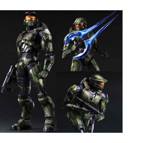 HALO 2 Anniversary - Figurine Ed. Play Arts [Kai] Master Chief