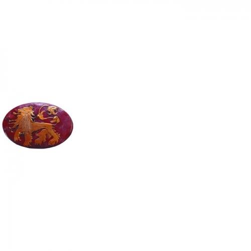 GAME OF THRONES - Réplique Broche Bouclier Lannister 5.5cm