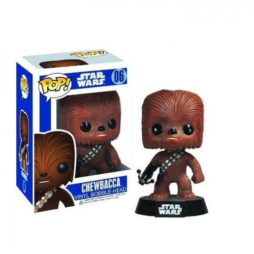 STAR WARS - Figurine Bobble Head POP Chewbacca