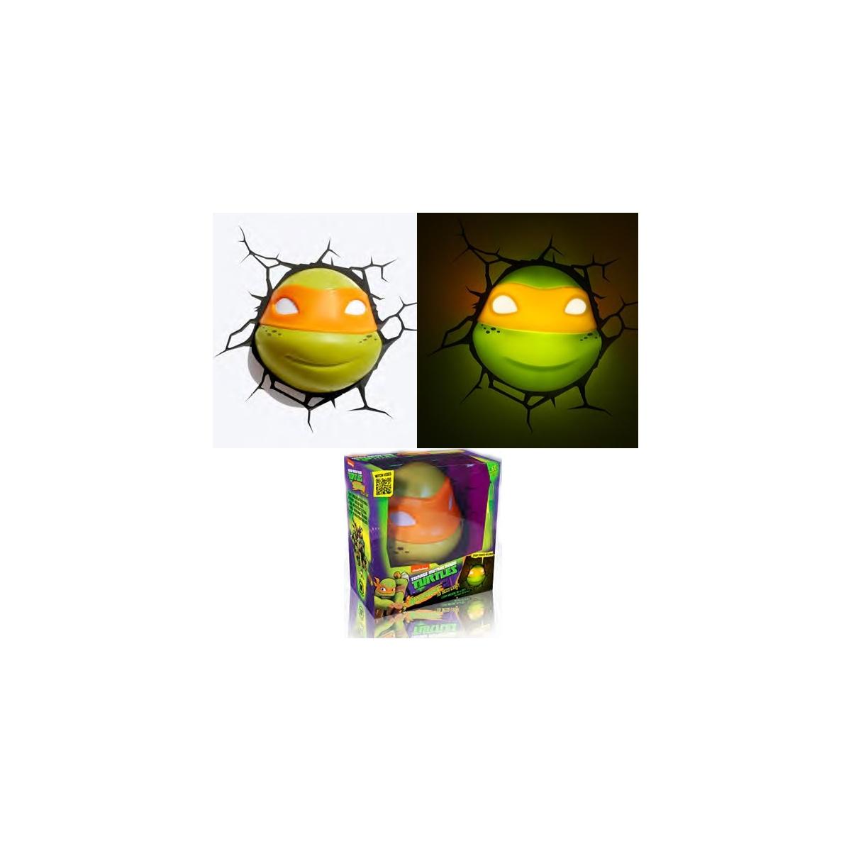Tortues ninja lampe d corative 3d michelangelo - Tortues ninja michelangelo ...