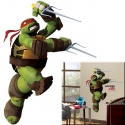 Tortues Ninja - Stickers géant repositionnable Raphael