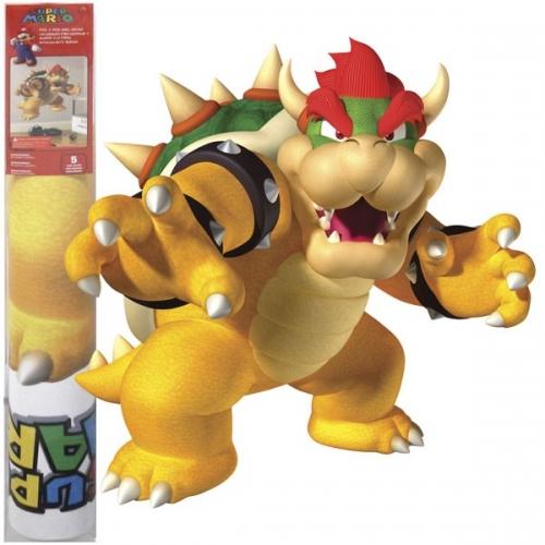 Nintendo - Sticker Géant Bowser repositionnable