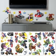 NINTENDO - Stickers repositionnables Multi-element Super MarioKart Wii