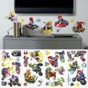 NINTENDO - Stickers repositionnables Multi-element Super MarioKart Wii