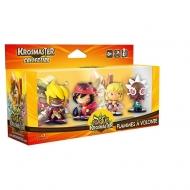 KROSMASTER ARENA - Pack de 4 figurines Saison 1 : Flammes à volonté