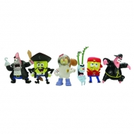 Bob l\'eponge - Set de 6 mini Figurines - Serie 2