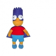 SIMPSONS - Peluche Bart - Superhero (37 cm)