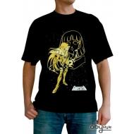 SAINT SEIYA - Tshirt Shaka de la Vierge homme MC black - basic