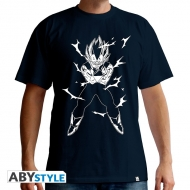 DRAGON BALL - Tshirt DBZ/Vegeta homme MC navy