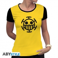 ONE PIECE - Tshirt Trafalgar Law femme MC jaune