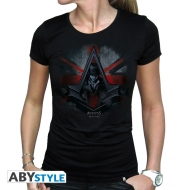 ASSASSIN'S CREED - Tshirt Jacob & Flag femme MC black - basic