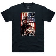 SONS OF ANARCHY - T-shirt Clay Morrow Portrait Noir