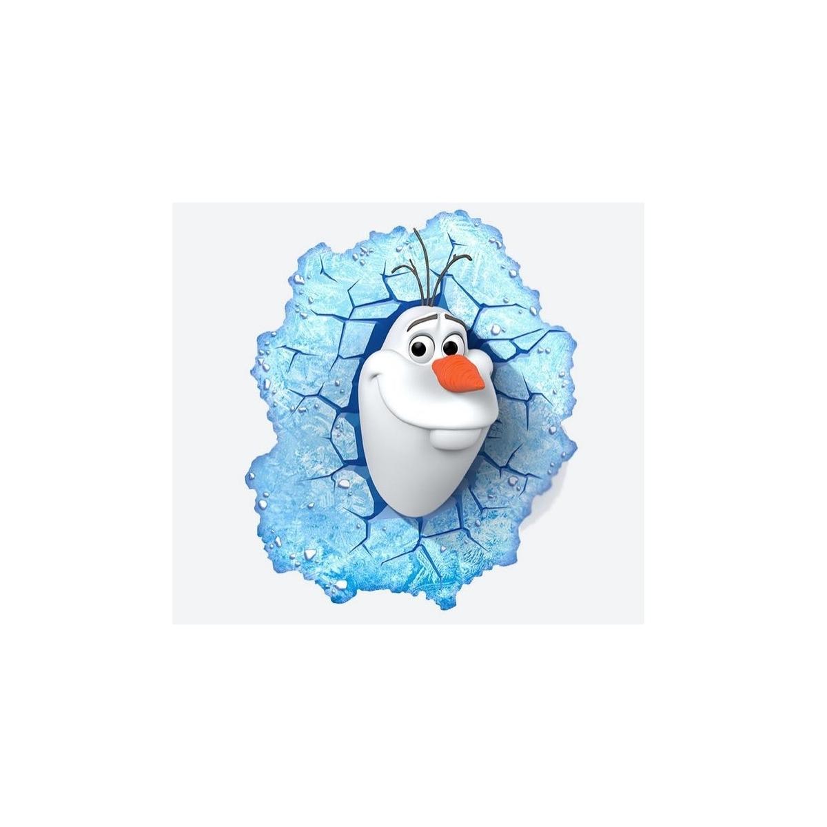 la reine des neiges lampe 3d led olaf figurine discount. Black Bedroom Furniture Sets. Home Design Ideas