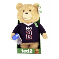 Ted - Peluche parlante Jersey Explicit 40 cm *ANGLAIS*