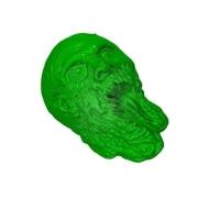 The Walking Dead - Moule en silicone Zombie Head 23 cm