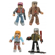 Retour vers le futur - Pack 4 figurines Minimates 30th Anniversary Hill Valley Box Set 5 cm