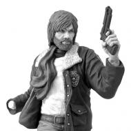 Walking Dead - Tirelire vinyle Rick Grimes Black & White 20 cm