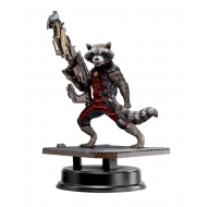 Les Gardiens de la Galaxie - Statuette PVC Action Hero Vignette 1/9 Rocket Raccoon Red Suit Ver. 18 cm