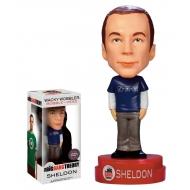 Big Bang Theory - Figurine Bobble Head Sheldon Superman T-Shirt