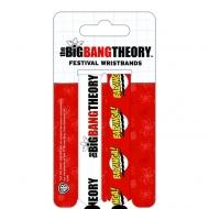 Big Bang Theory - Pack 2 bracelets (type festival) Bazinga