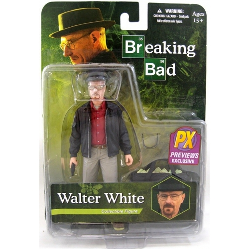 Breaking Bad - Figurine Heisenberg Walter White Px Exclusive Chemise Rouge 15cm