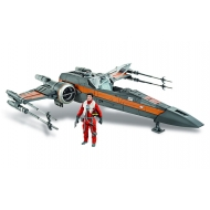 Star Wars Episode VII - Véhicule avec figurine 2015 Class III Poe's X-Wing Fighter