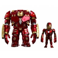 Avengers L'Ère d'Ultron - Figurine Bobble Heads Artist Mix Hulkbuster & Battle Damaged Iron Man 20 cm