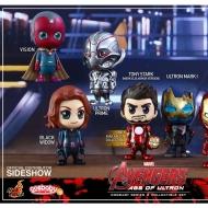 Avengers L'Ère d'Ultron - Pack de 7 figurines Cosbaby 9 cm