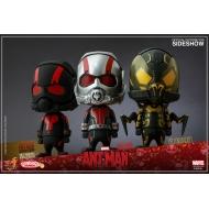 Ant-Man - Pack de 3 figurines Cosbaby 9 cm