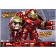 Avengers L'Ère d'Ultron - Pack de 2 figurines Cosbaby 14 cm