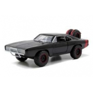 Fast & Furious 7 - Véhicule 1/24 1970 Dodge Charger Off Road Black métal