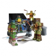 Les Tortues ninja - Set Papercraft Team Ninja Turtles Pack