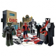 Spider-Man Ultimate - Set Papercraft Battle at Oscorp Deluxe Pack