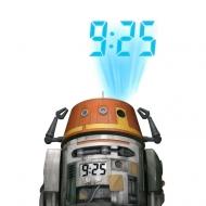 Star Wars - Réveil projecteur Chopper
