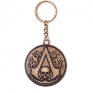 Assassin's Creed IV Black Flag - Porte-clés métal Round Crest Logo