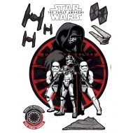 Star Wars Episode VII - Stickers First Order 50 x 70 cm