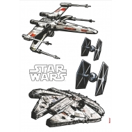 Star Wars - Stickers Spaceships 100 x 70 cm