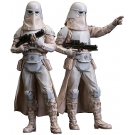 Star Wars - Pack 2 statuettes PVC ARTFX+ Snowtrooper 18 cm