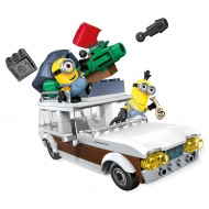 Minions - Mega Bloks - Jeu de construction Station Wagon Getaway