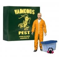 Breaking Bad - Figurine Deluxe Jesse Pinkman in Orange Hazmat Suit 15 cm