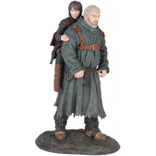 Game Of Thrones - Statuette PVC Hodor & Bran 23 cm