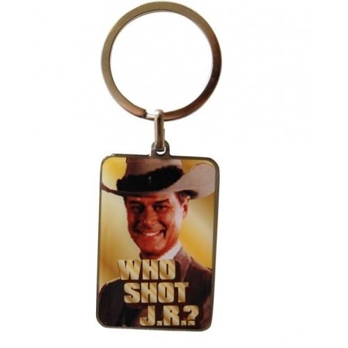 Dallas - Porte Clef métal Who Shot JR ?