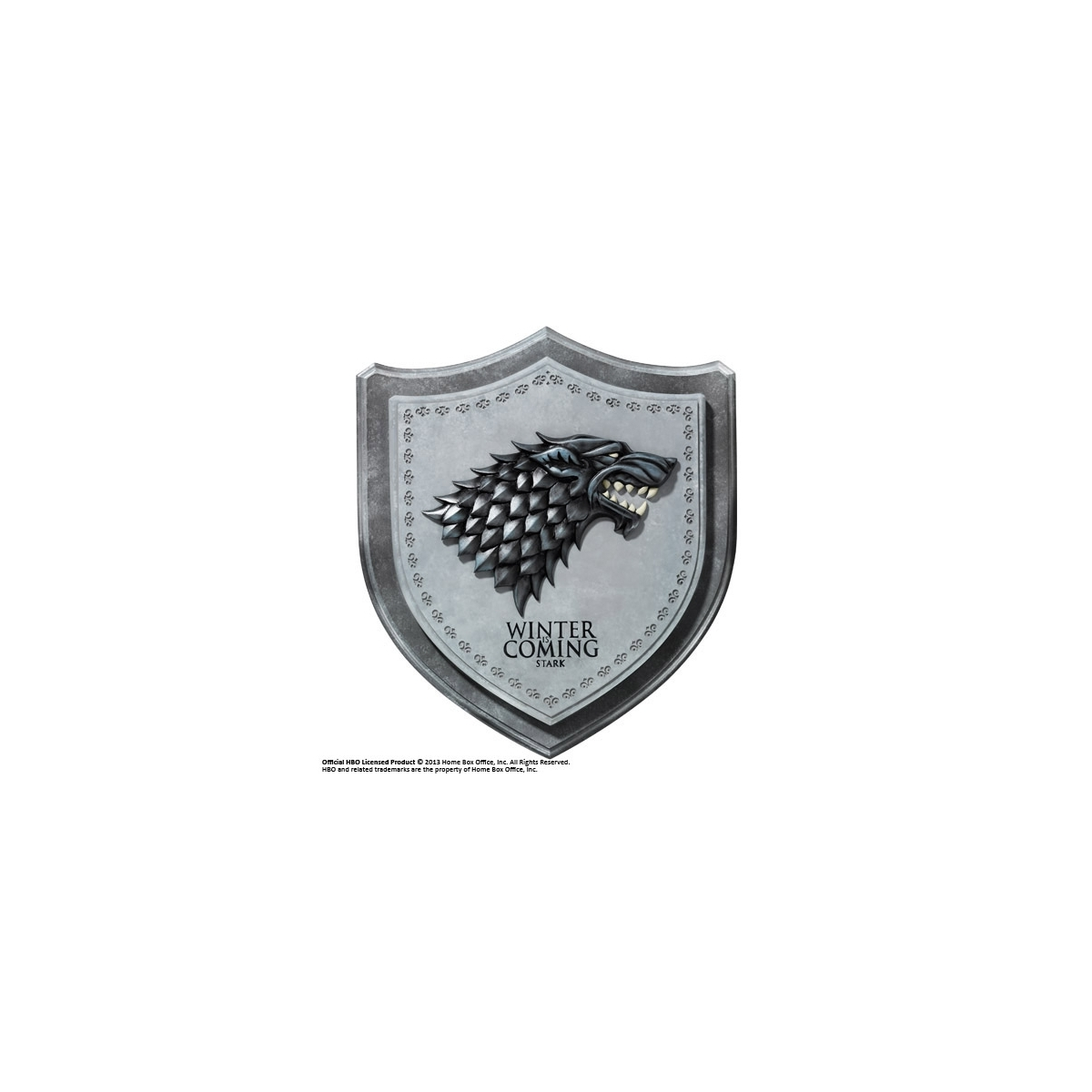 Le tr ne de fer d coration murale stark house crest 30 for Decoration murale game of thrones