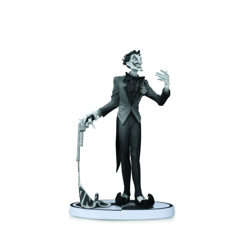 Batman - Statue Black & White Joker Jim Lee 2nd Edition 14cm