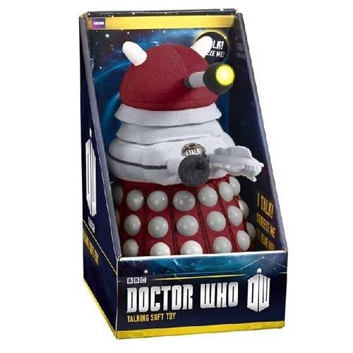 Doctor Who -  Peluche Dalek Bordeaux Sonore et Lumineuse 22cm