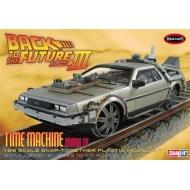 Retour vers le Futur 3 - Maquette 1/25 Delorean Time Machine Railroad