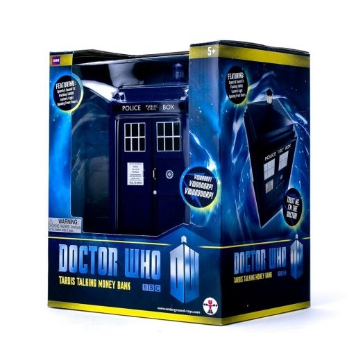 Doctor Who - Tirelire Tardis Sonore et Lumineuse