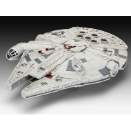 Star Wars Episode VII - Maquette Build & Play sonore et lumineuse Millennium Falcon 20 cm